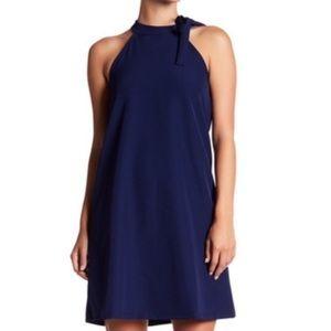 The Vanity Room navy blue sheath Dress